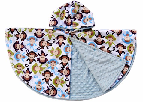 Hot Sale 100% Polyester Custom Personalized Two Layers Minky Baby Poncho  sc 1 st  ABC-TEX & Car Seat Canopy-ABC-TEX
